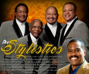 The Stylistics and The Main Ingredient live in Manila!