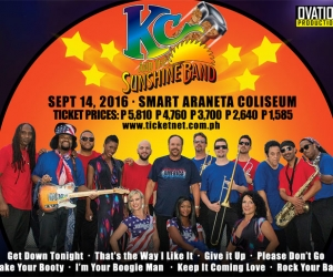 KC and the Sunshine Band Live in Manila