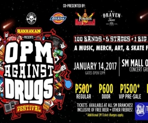 Rakrakan Presents: OPM Againsts Drugs Music Festival