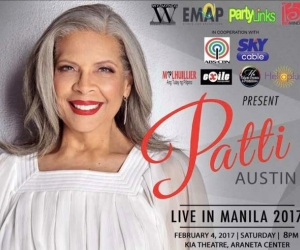 Patti Austin Live in Manila