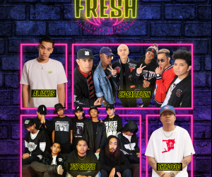 One Music PH Presents: FRESH – Filipino Rappers Elevating the School of Hip-Hop